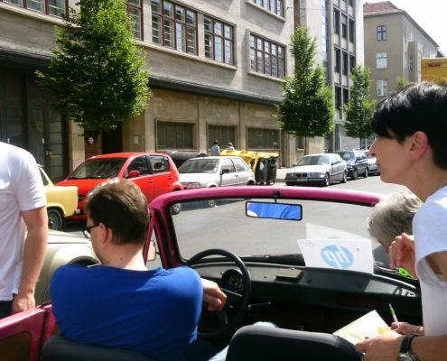 Trabi Cabrio City Safari Berlin