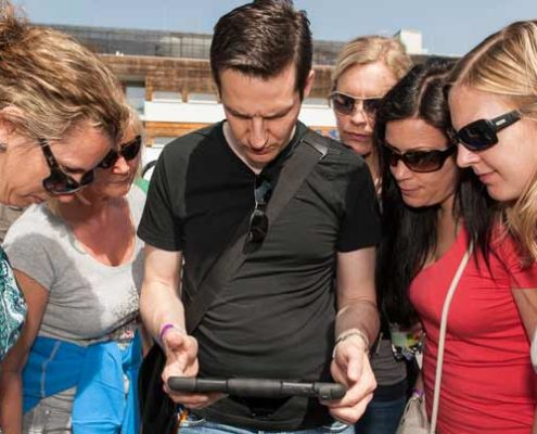 iPad Rallye Rahmenprogramm